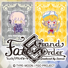 「Fate/Grand Order Design produced by Sanrio」第2弾発売決定☆