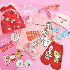 期間限定ショップ『HELLO KITTY ♥ foxy illustrations』SHIBUYA109にオープン!