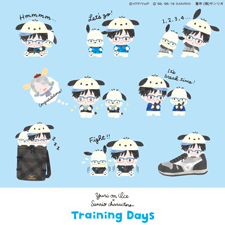 「Yuri on Ice×Sanrio characters Training Days」シリーズが登場!