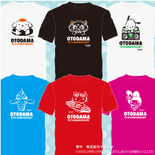 OTODAMA SEA STUDIO 2019 supported by POCARI SWEATでコラボTシャツ発売★