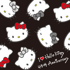 【特集】Hello Kitty 45th Anniversary
